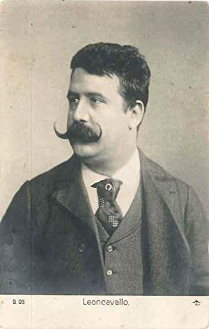 Leoncavallo portrait photographique: LEONCAVALLO Ruggero