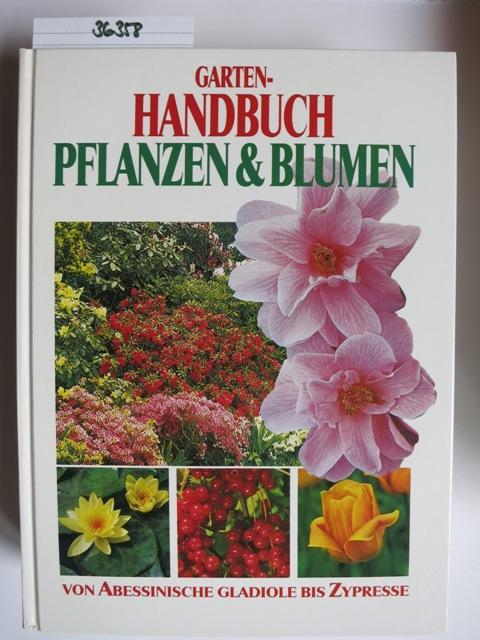 e1d6e137a5ff86 Garten-Handbuch Pflanzen   Blumen  unbekannt
