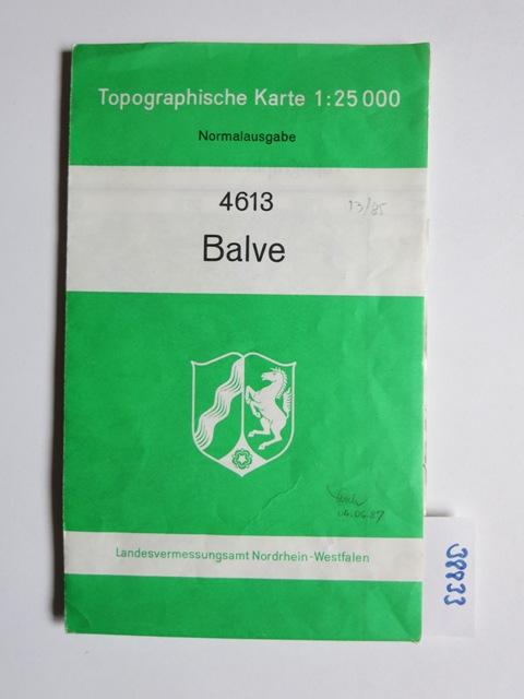Topographische Karte Nrw.Topographische Karte 4613 Balve