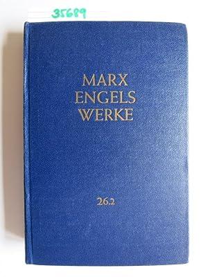 Marx Engels Werke, Band 26 Teil 2: Theorien über den Mehrwert: Marx, Karl und Friedrich Engels: