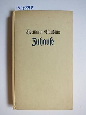 Hermann Claudius Zuhause Neue Gedichte Zvab