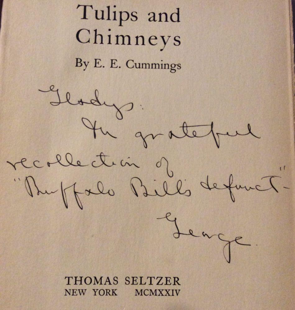 Tulips and Chimneys: E. E. Cummings