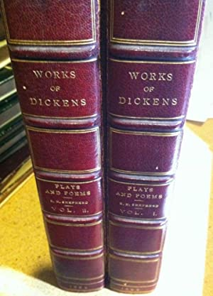 The Plays and Poems of Charles Dickens with a Few Miscellanies in Prose in Two Volumes (Complete)