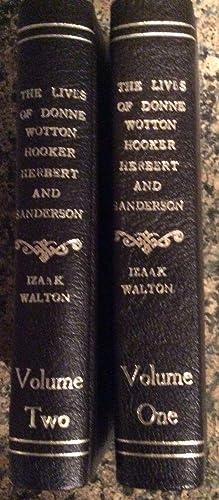 The Lives of John Donne Sir Henry Wotton, Mr. Richard Hooker, Mr. George Herbert and Dr. Robert ...
