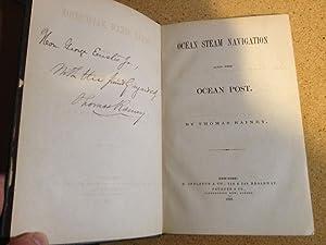 Ocean Steam Navigation and the Ocean Post: Rainey, Thomas