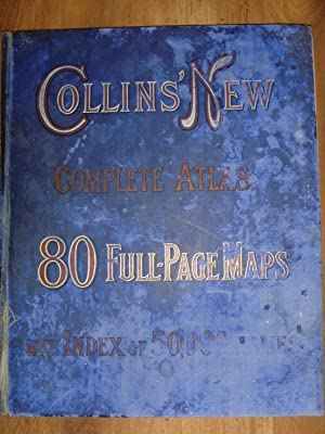 Collins' New Complete Atlas 80 Full-Page Maps: Collins'