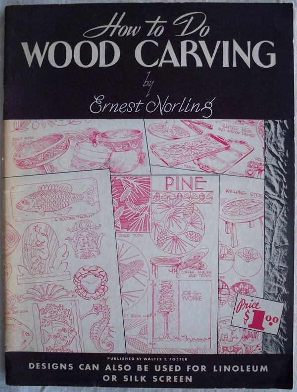 HOW TO DO WOOD CARVING (WALTER T  FOSTER