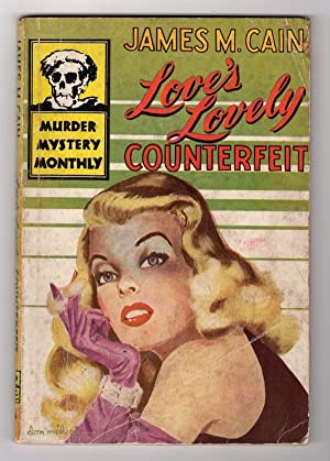 LOVE'S LOVELY COUNTERFEIT (MURDER MYSTERY MONTHLY, NO. 44)