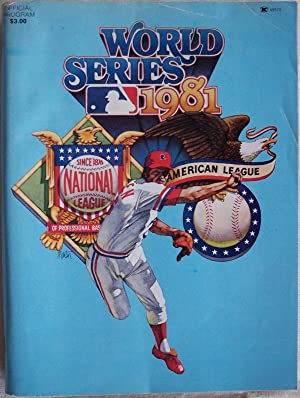 WORLD SERIES 1981 OFFICIAL PROGRAM