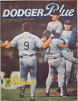 DODGER BLUE, VOL. 8, NO. 16, OCTOBER 1988 (WORLD CHAMPIONS)