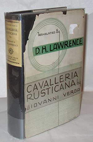 Cavalleria Rustican: Giovanni Verga, translated by D H Lawrence