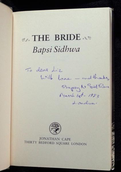 THE BRIDE BY BAPSI SIDHWA EPUB DOWNLOAD