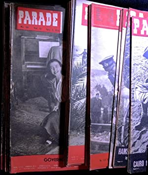 Parade Middle East Weekly: a collection of 39 issues from 1941, 1942, 1943, 1944, 1945.: Editor: ...