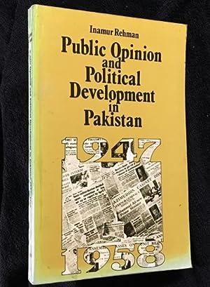 Public Opinion and Political Development in Pakistan,: Inamur Rehman: