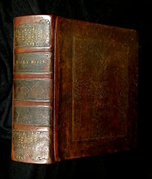 An UNRECORDED EDITION of the BIBLE]: The: Stanhope, the Rev.