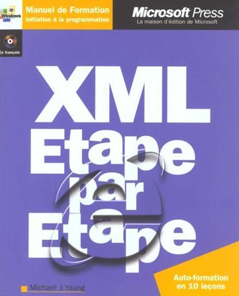 Xml Cd Rom Etape Par Etape Livre Cd Rom Par