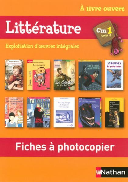 A Livre Ouvert Francais Cm1 Cycle 3