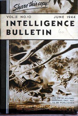 Intelligence Bulletin Vol 03 No 01 September 1944