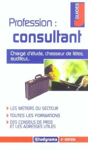 Profession, consultant