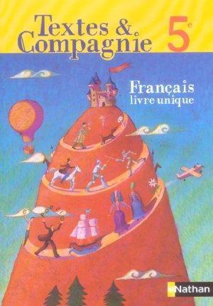 Textes Et Compagnie 5e