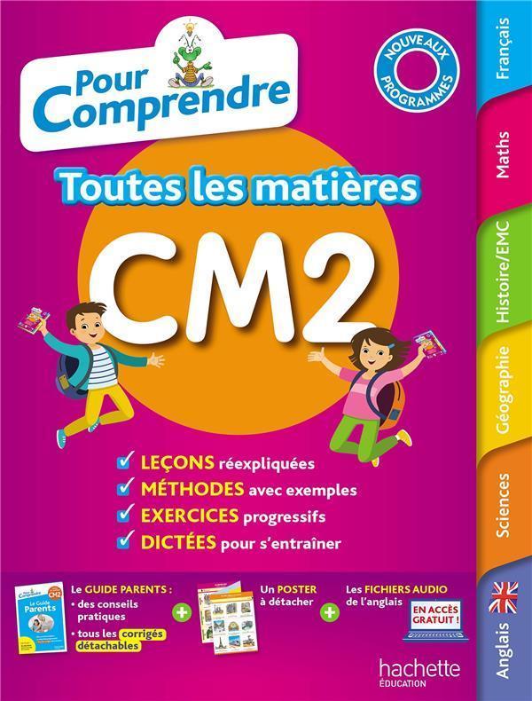 Pour Comprendre Toutes Les Matieres Cm2