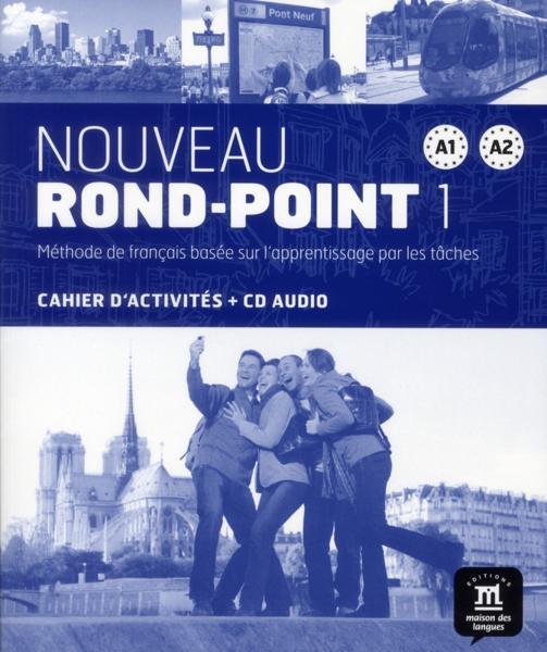 nouveau rond-point - niveau A1-A2 du CECRL - cahier d exercices + cd - Collectif