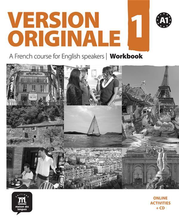 VERSION ORIGINALE T.1 - FLE - wordkbook - A1 (édition 2010) - Collectif