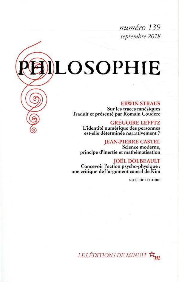 revue philosophie N.139 - Revue Philosophie
