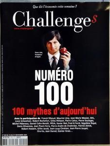 CHALLENGES N° 100 DU 15 11 2007