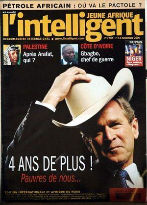 JEUNE AFRIQUE L'INTELLIGENT N° 2287 DU 07