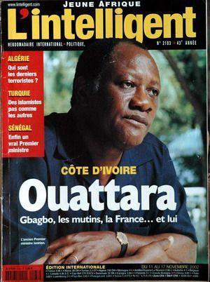 JEUNE AFRIQUE L'INTELLIGENT N° 2183 DU 11