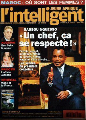 JEUNE AFRIQUE L'INTELLIGENT N° 2299 DU 30