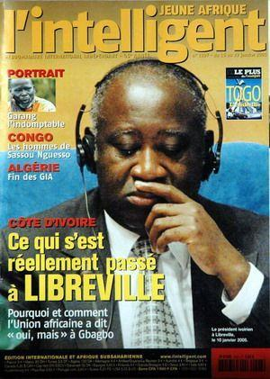 JEUNE AFRIQUE L'INTELLIGENT N° 2297 DU 16