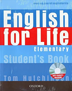 english for life elementary - livre de: Collectif