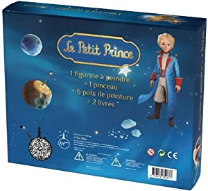 Coffret Le Petit Prince - 2 livres avec une figurine à peindre: Fabrice Colin