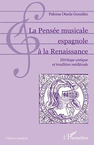 la pensée musicale espagnole à la renaissance - héritage antique et tradition ...