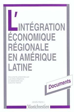 Integration Eco.Region.Amerique Latine (L'): Baptista, Luiz Olavo