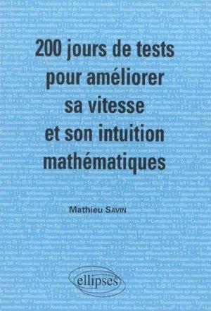 200 Jours De Tests Pour Ameliorer Sa: Savin