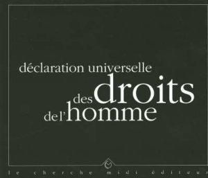 declaration universelle des droits de l'homme: Collectif