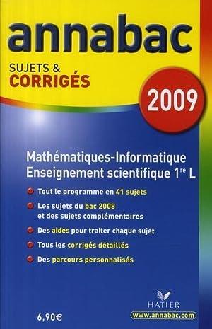 Annabac Sujets et Corriges T.4 - Mathématiques Informatique Enseignement Scientifique - 1&...