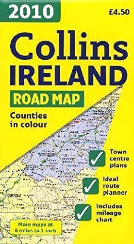 collins - Ireland road map (édition 2010)
