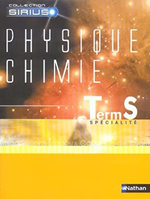 Physique, chimie, Term. S