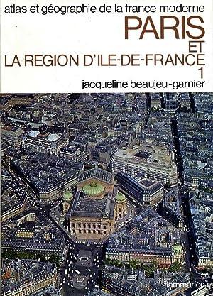 Atlas et géographie de Paris et de: BEAUJEU-GARNIER,J.