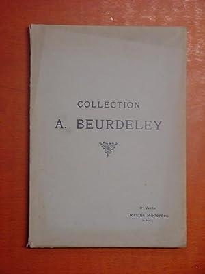Catalogue des Dessins, Pastels, Aquarelles modernes, par: neuvième vente Beurdeley,