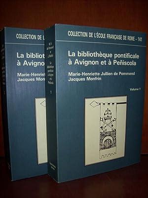 La bibliothèque pontificale à Avignon et à: JULLIEN DE POMMEROL,