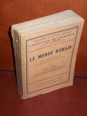 Le monde romain.: CHAPOT V.