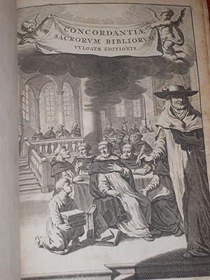 Concordantiae Bibliorum sacrorum vulgatae editionis.: DUTRIPON, F.P.