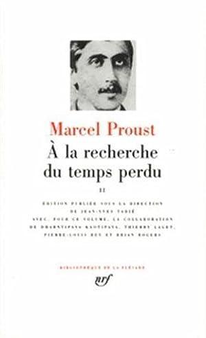 à la recherche du temps perdu t.2: Proust, Marcel