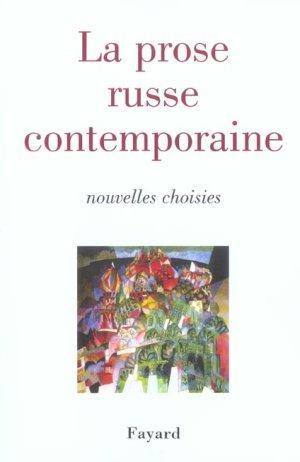 La prose russe contemporaine