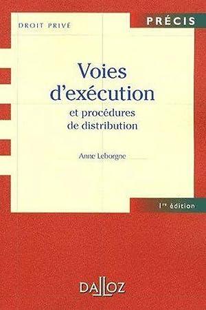 Voies d'exécution et procédures de distribution: Collectif